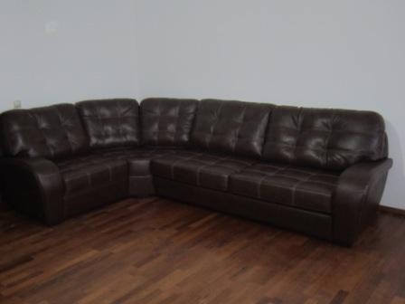 Сборка углового дивана.