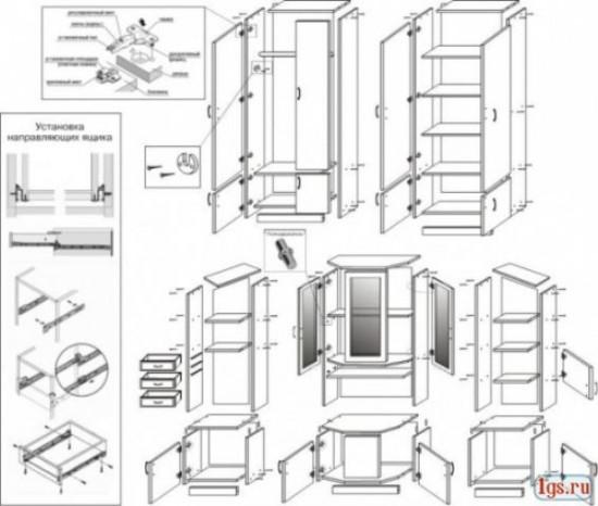 инструкция по сборке мебели макарена