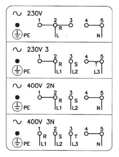 Схема подключения электрической варочной панели.