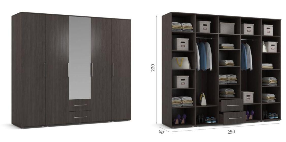 много мебели схема сборки шкафа престиж 150